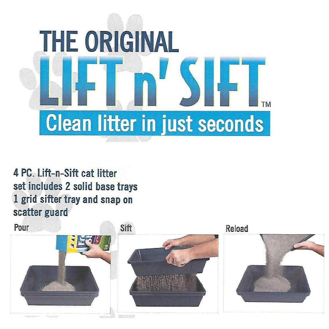 Hometec Lift N Sift Cat Litter Tray System (Biege)