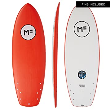 Mick Fanning Little Marley - Tabla de Surf (1,5 m), Color Rojo: Amazon.es: Deportes y aire libre