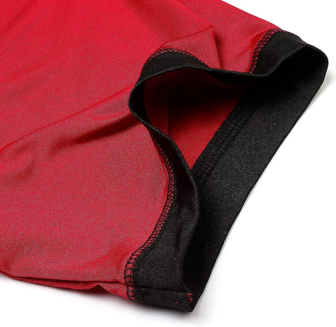 Jessie Nightwear per le donne a contrasto colore ragazze camicia da notte con tasca laterale fessura signore sciolto camicia da notte lunga camicia da notte pigiameria
