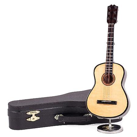 22,86 cm Classic de madera caja de música guitarra de cuerdas de ...