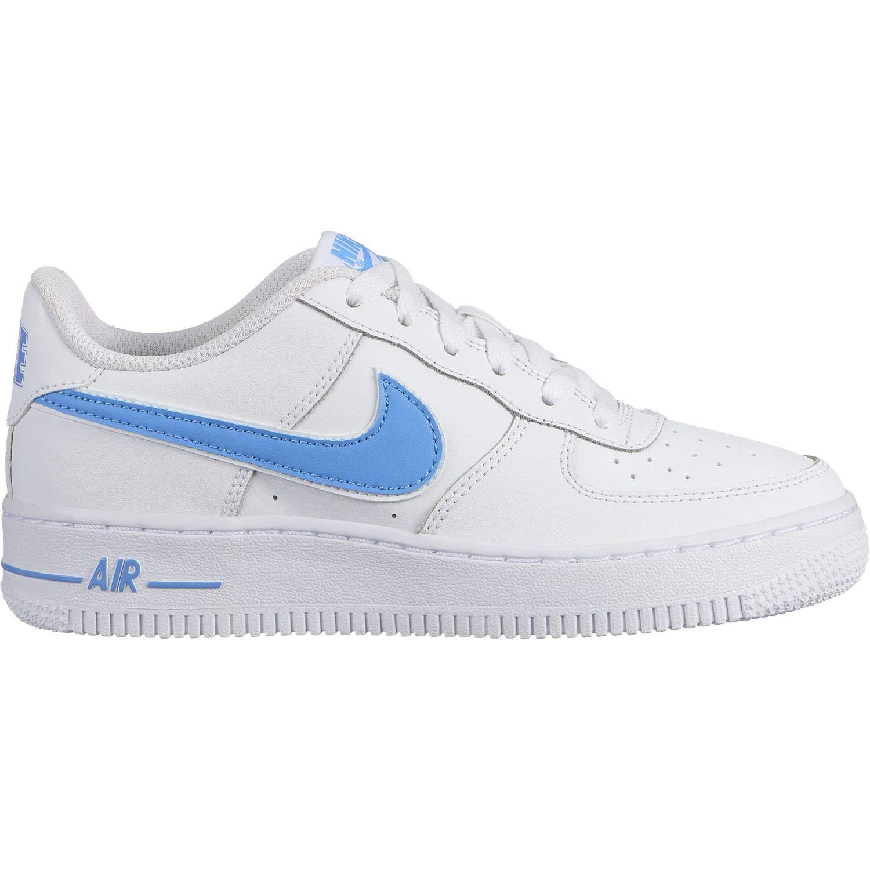 Nike Herren Air Force 1-3 (Gs) Basketballschuhe Basketballschuhe Basketballschuhe Weiß Blau 193193