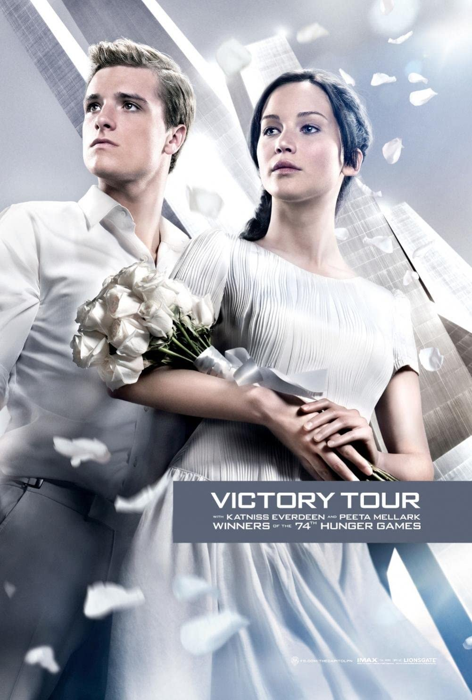 Amazon Com Cartoon World P1025 Victory Tour The Hunger Games