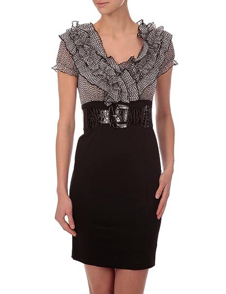 Morgan - Vestido - Negocios - para mujer Negro 36