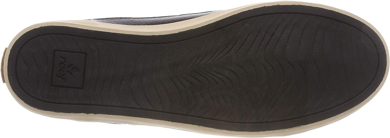 Reef Iris Le, Sneakers Basses Femme Noir Black Natural Bln
