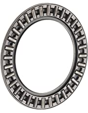 INA AXK2035 Thrust Needle Bearing, Axial Cage and Roller, Steel Cage, Open End, Metric, 20mm ID, 35mm OD, 2mm Width, 10000rpm Maximum Rotational Speed, 10500lbf Static Load Capacity, 2950lbf Dynamic Load Capacity