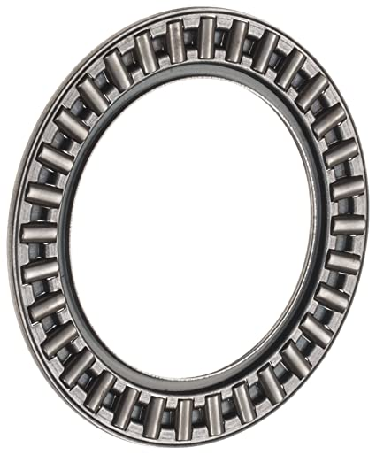 2950lbf Dynamic Load Capacity AXK2035-A//0-10 Metric 20mm ID Open End Axial Cage and Roller 2mm Width 10500lbf Static Load Capacity 10000rpm Maximum Rotational Speed 35mm OD Steel Cage INA AXK2035 Thrust Needle Bearing