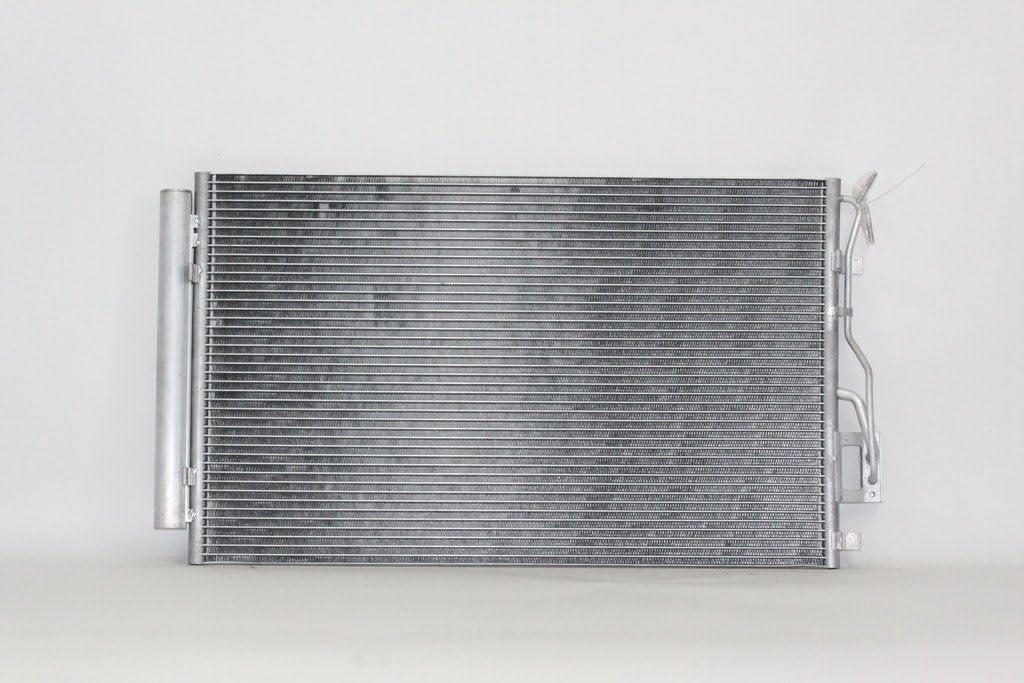 A//C Condenser Pacific Best Inc For//Fit 3882 10-12 Hyundai Santa Fe 11-15 Kia Sorento w//Receiver /& Dryer