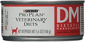 Purina Veterinary Diets DM Dietetic Management for Cats 24/5.5oz cans