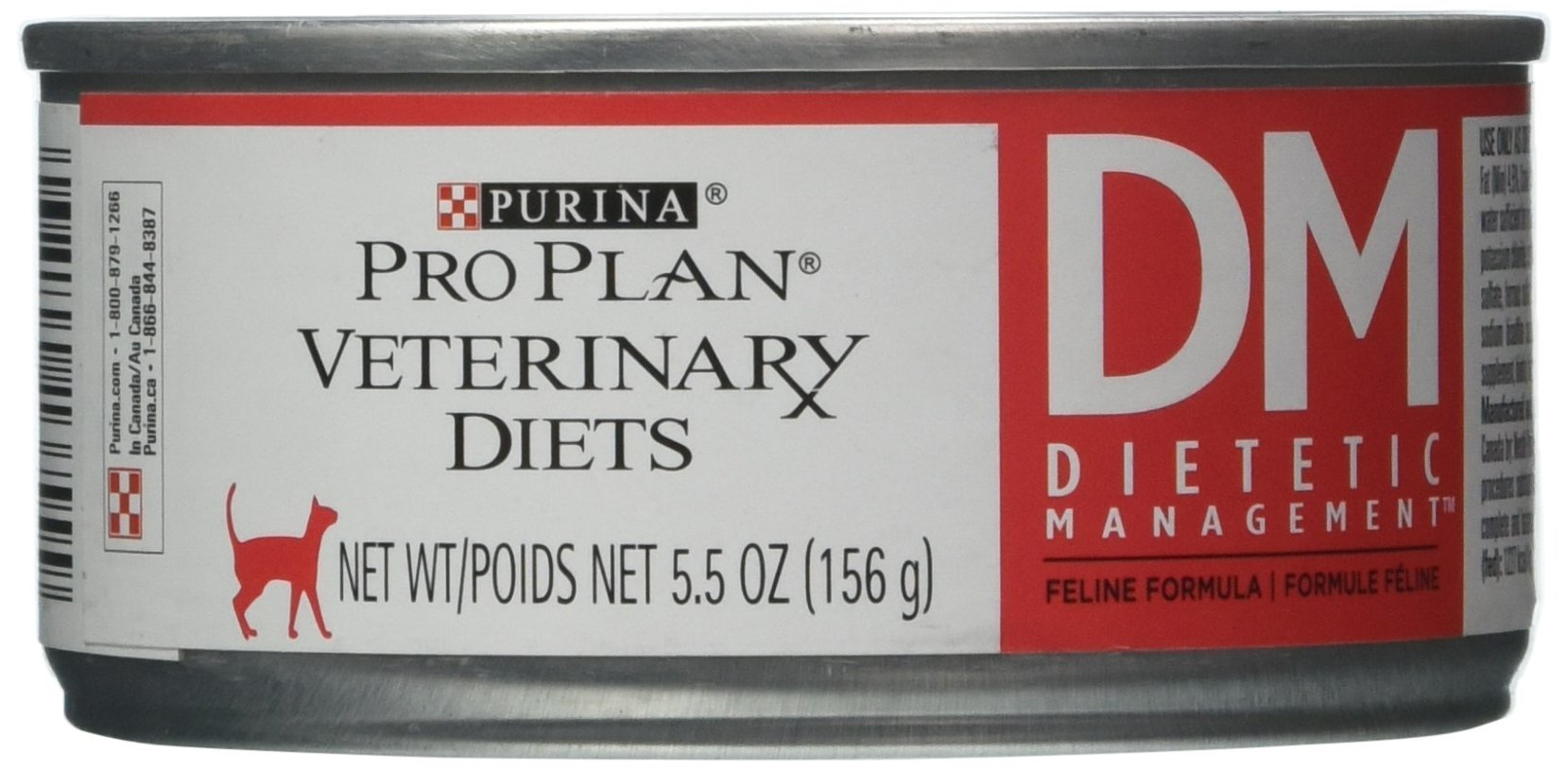 Purina Veterinary Diets DM Dietetic Management for Cats 24/5.5oz cans by Purina Waggin' Train