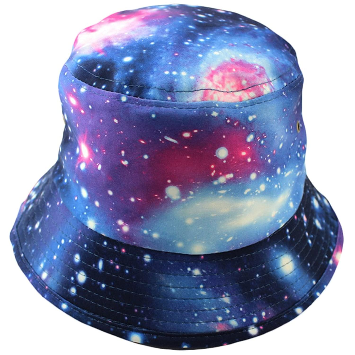 Foldable Bucket Hat Boonie Galaxy Hunting Fishing Outdoor Caps Summer Beach Hats