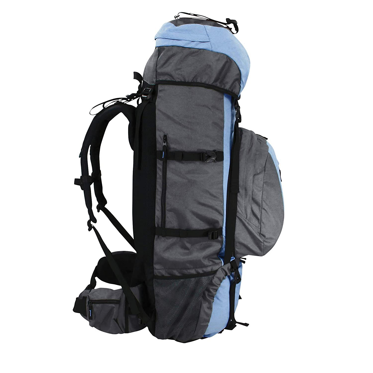 Blau // Grau 100 liters Azul 95 cm 10T Outdoor Equipment Northcote 85+15 Saco marinero