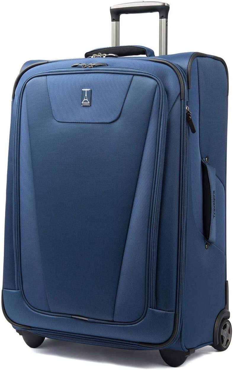 One size, Blue Travelpro Marquis International Expandable Rollaboard