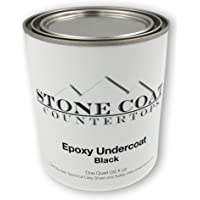 Black Epoxy Undercoat – Epoxy Paint and Primer Mix for Coating MDF, Plywood, and Other Porous Materials! Use with DIY…