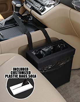 KMMOTORS Aladdin Wastebasket with 50PCS Plastic Bag Car Garbage CAN