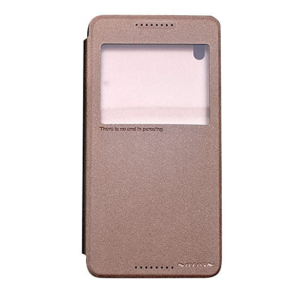 separation shoes 50577 045be NILLKIN Sparkle Flip Cover For HTC Desire 820 - GOLDEN: Amazon.in ...