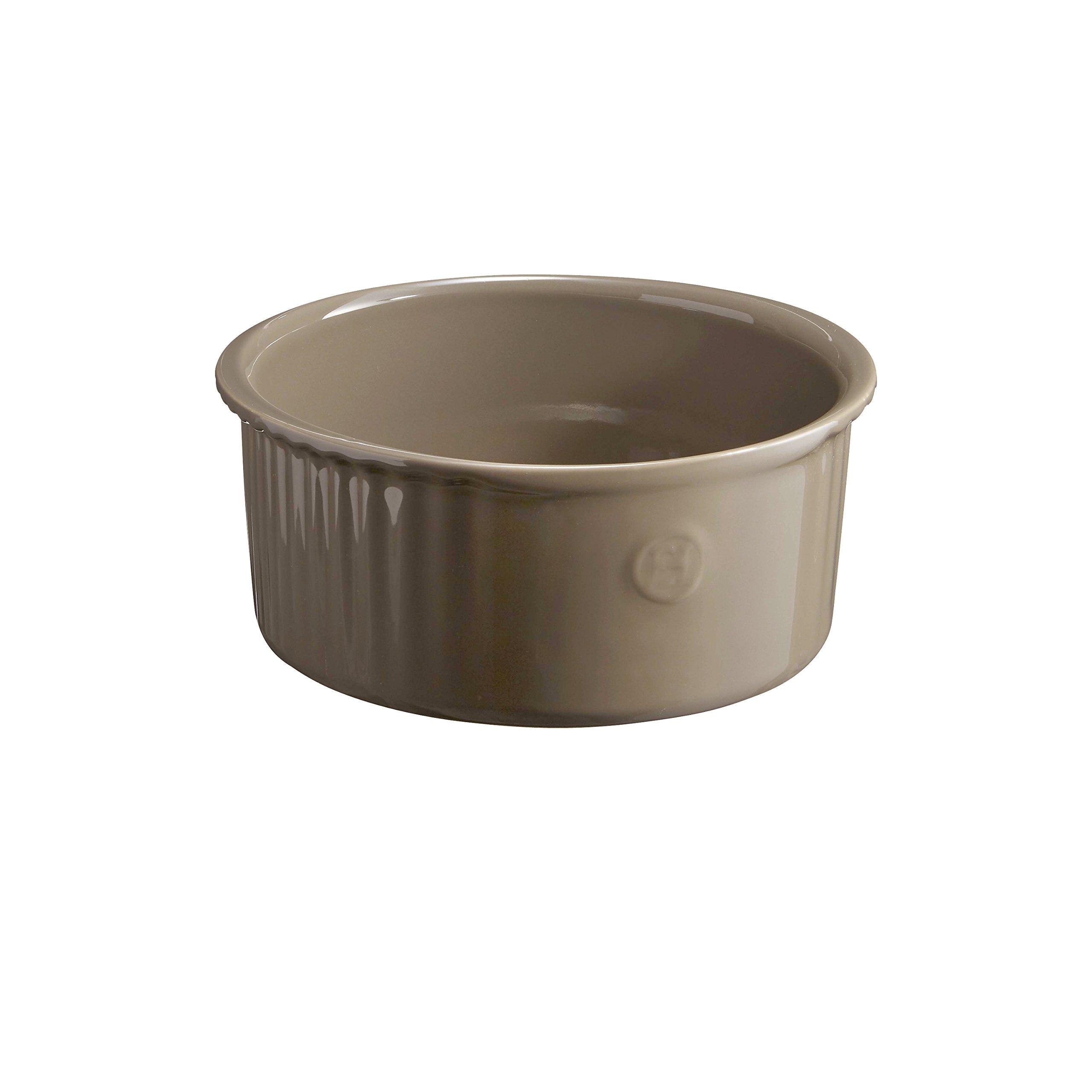 Emile Henry 956880 Souffle Dish, 2.3 Quart, Flint by Emile Henry