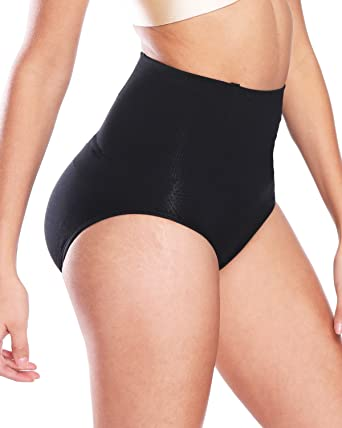 6120ab41b4 NINGMI Butt Lifter Padded Panty Shapewear Tummy Control Underwear Hip  Enhancer Body Shaper for Womens  Amazon.co.uk  Clothing