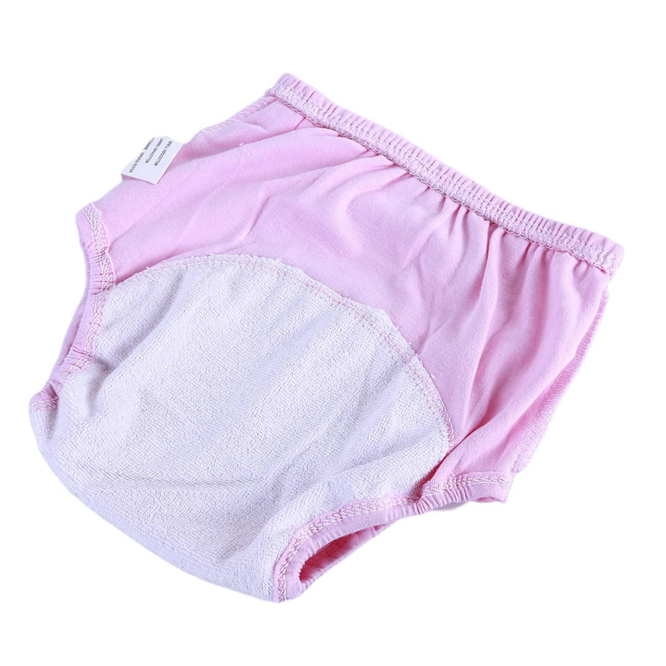 ZALING Baby Learning Pants Waterproof Panties Baby Cotton Training Pantscloth Diaper Car