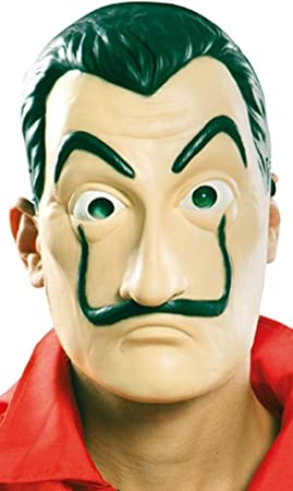 EUROCARNAVALES Máscara látex La Casa de Papel: Amazon.es: Juguetes y juegos