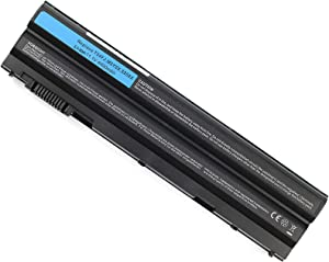 BTMKS Laptop 6 Cells Battery T54FJ for DELL Latitude E6420 E6430 E6520 E6530 E5420 E5530 E5420 E5430 Series 009K6P 04NW9 312-1163 08858X 09K6P 0F33MF 312-1311 HCJWT X57F1 T54F3 Notebook Replacement