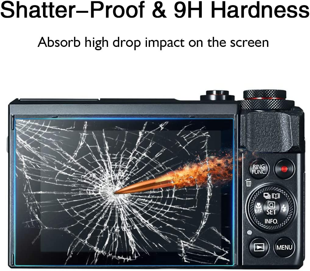 Protector de Pantalla Antirreflejo mm 4H Canon Powershot G7X Mark III MK3