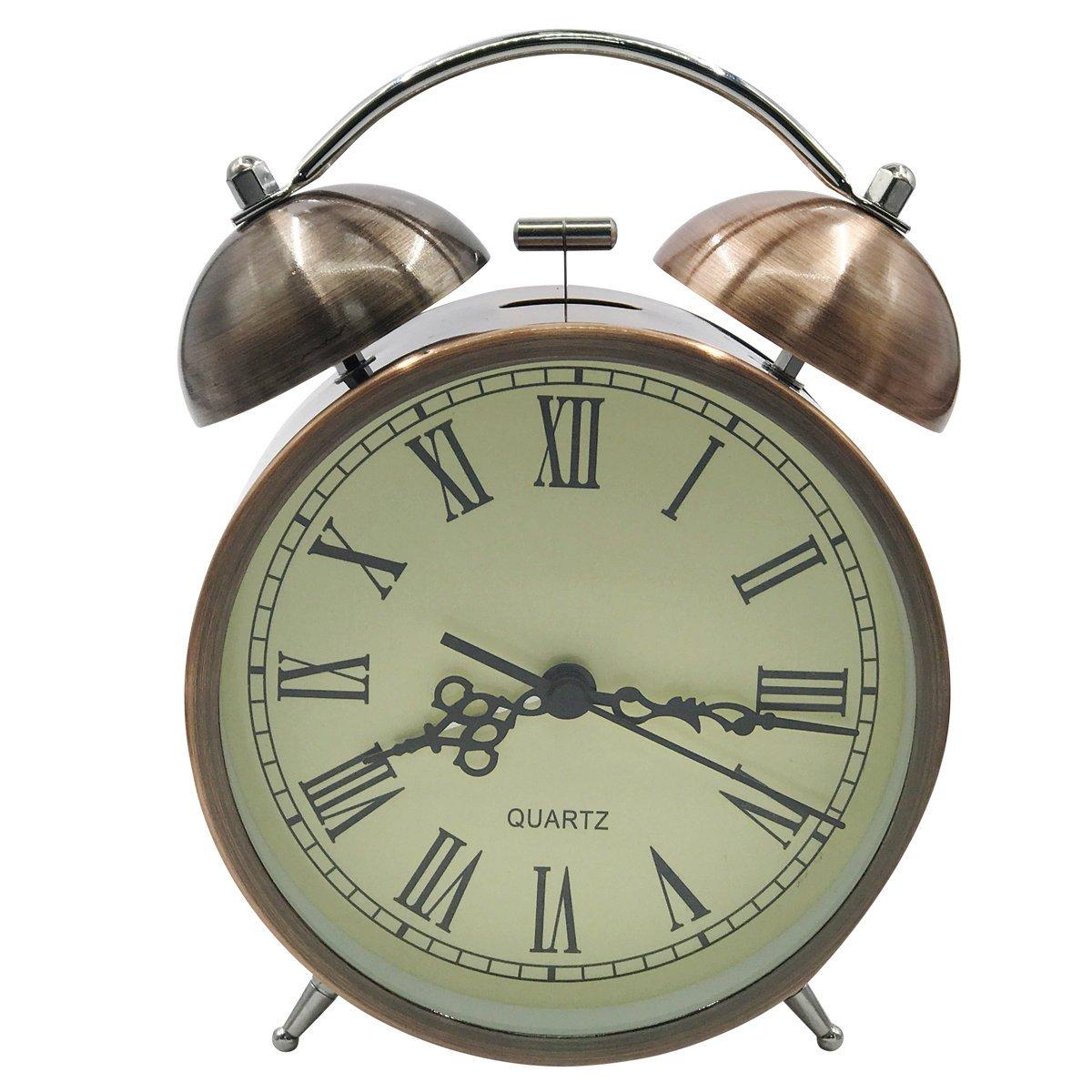 Reloj vintage de mesa silenciosohttps://amzn.to/2SL4udF