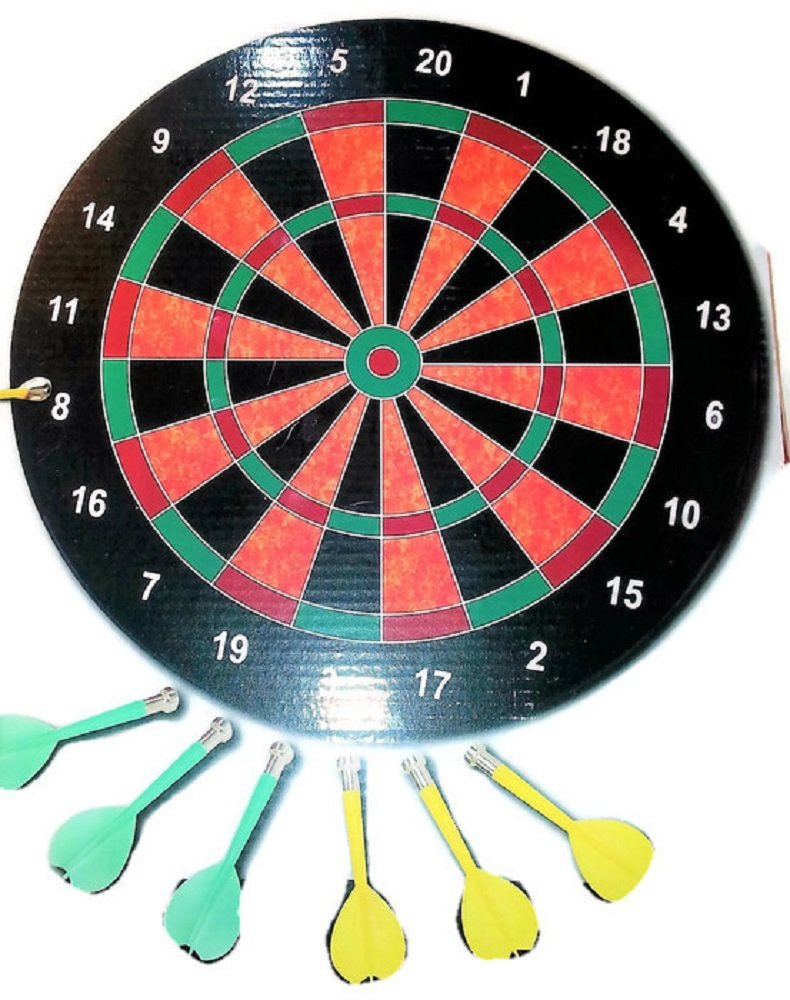 Magnetic Dart Board - 16'' in diameter
