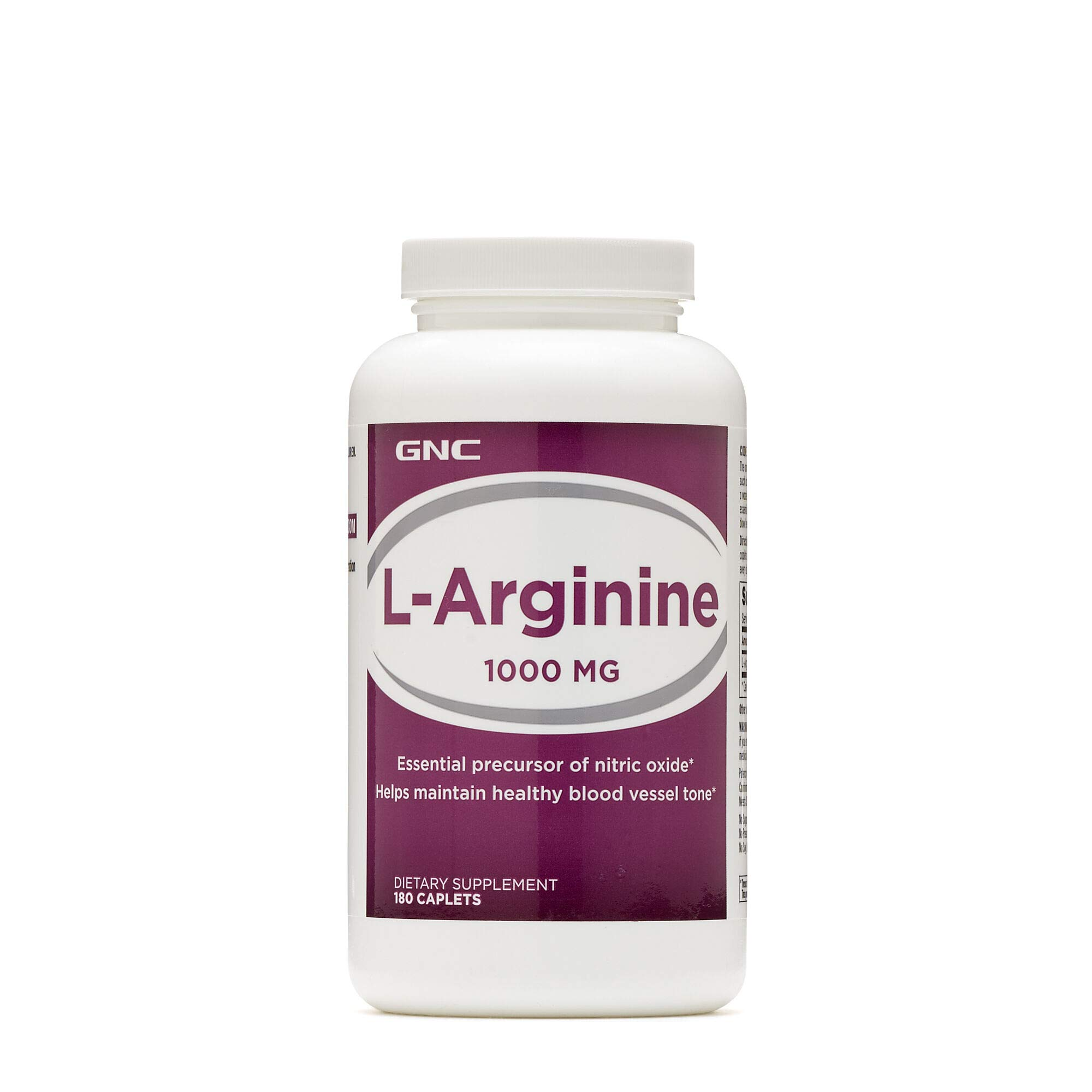 GNC LArginine 1000MG 180 Caplets by GNC