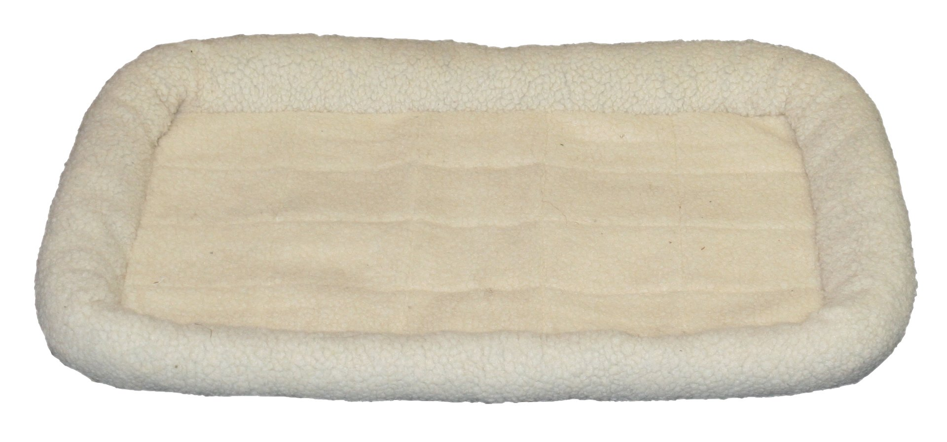 Danawares 29.5-Inch by 20.5-Inch Sherpa Rolled Edges Crate Liner, Medium