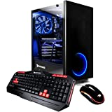 iBUYPOWER Gaming Desktop PC Intel i7-8700 3.2Ghz, AMD Radeon RX 580 4GB, 16GB DDR4 RAM, 2TB HDD, Intel 16GB Optane Memory, WiFi, Win 10 Home, View21 013i