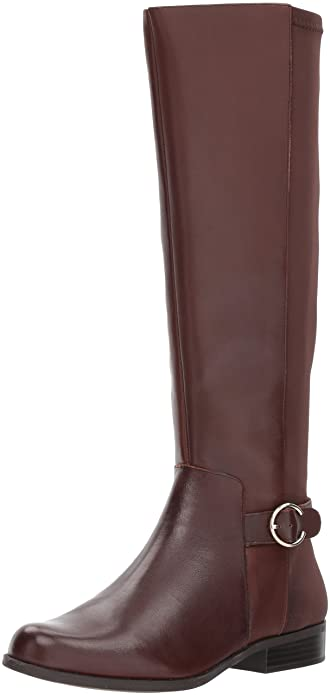 0a53a6228c8 Nine West Women's COMINBACK Leather Knee High Boot