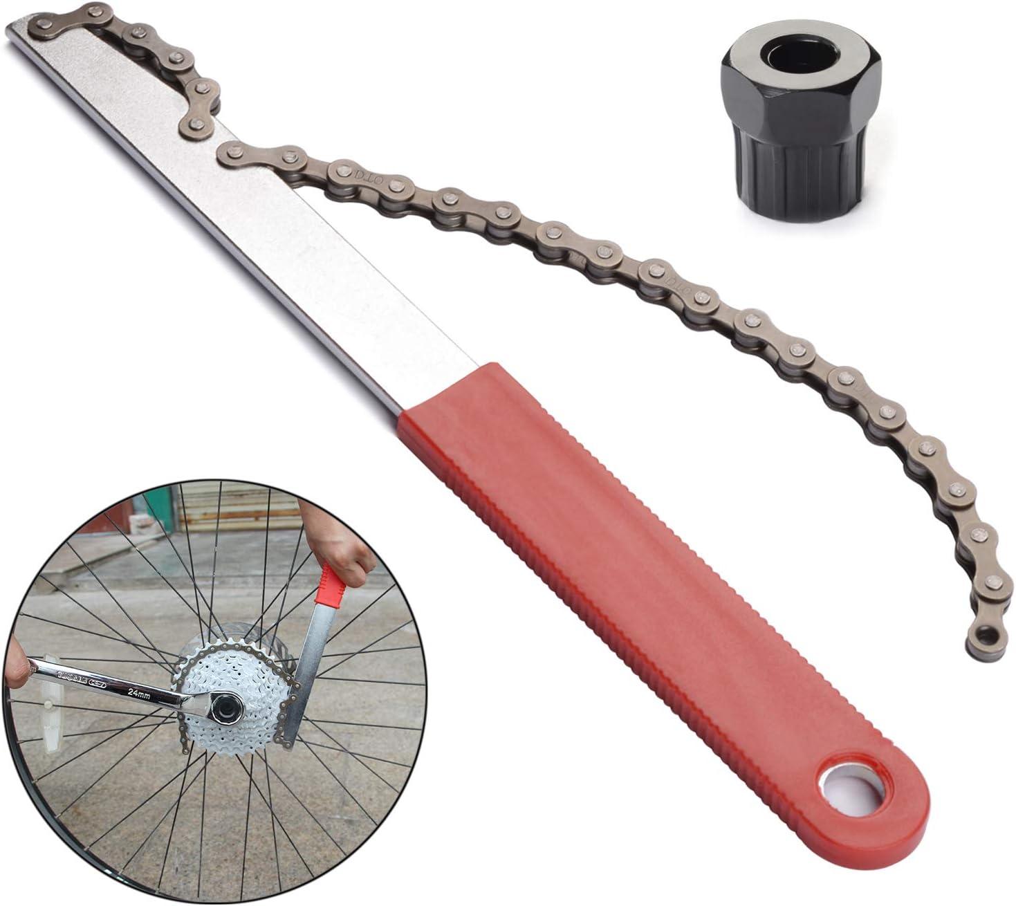 Bike Chain Whip Mountain Bicycle MTB Remover Freewheel Tool Cassette Bike Repair