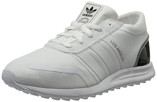 big sale 989b6 3cac6 adidas Women s Los Angeles Low-Top Sneakers, Bianco FTWR White Core Black,