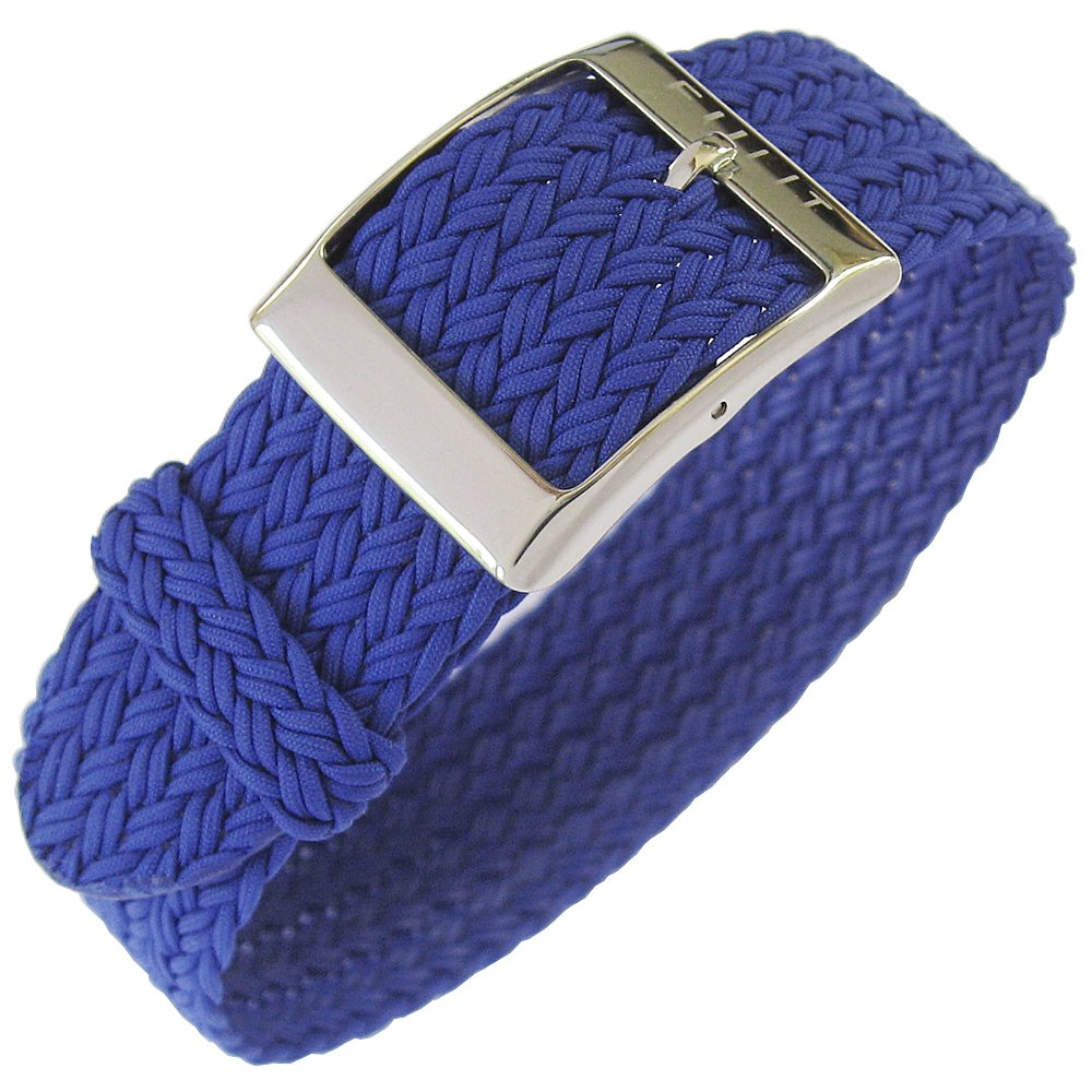Eulit Palma 20mm Royal Blue Perlon Watch Strap
