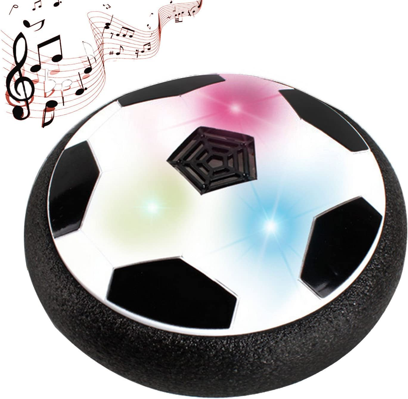 Gosear Música Air Hover Ball, LED luz Intermitente Bola de Aire ...