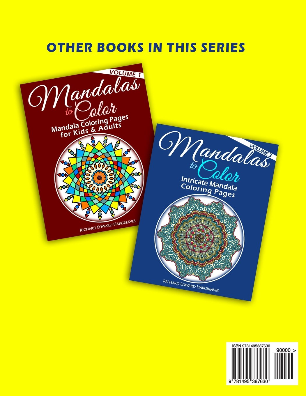 Mandala coloring pages amazon - Amazon Com Mandalas To Color Mandala Coloring Pages For Adults Mandala Coloring Books Volume 2 9781495387630 Mr Richard Edward Hargreaves Books
