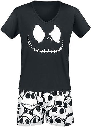 The Nightmare Before Christmas Jack Skellington Pyjama schwarz XXL ...