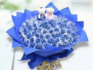 Bouquet Fleurs Balle Main Tenant Des Fleurs Artificielles