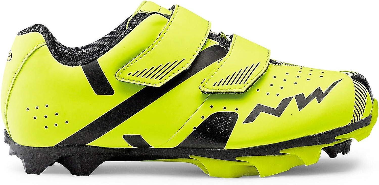 Northwave Hammer 2 Junior MTB Zapatos para niños Amarillo/Negro ...