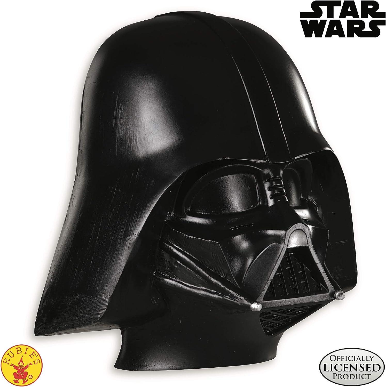 Amazon Com Star Wars 3 Revenge Of The Sith Darth Vader 1 2 Mask Clothing
