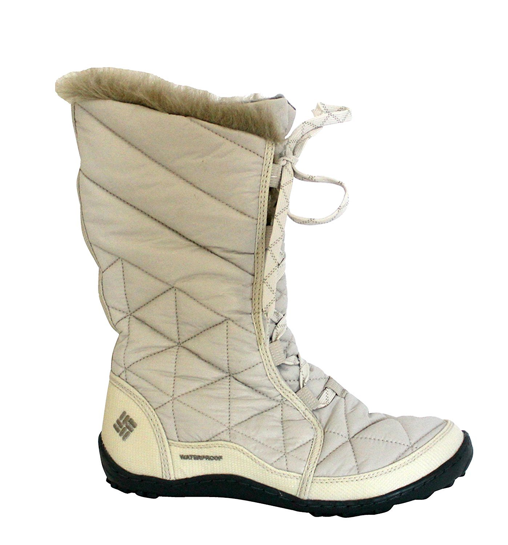 Columbia Women's Powder Summit Waterproof Winter Boots -25F B01NBPFCOV 7 B(M) US White