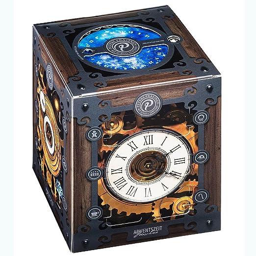 Peters - Adventskalender Advents-Zeitmaschine Pralinen Trüffel Confiserie - 300g | Zeitmaschinen-Adventskalender: Amazon.de: Grocery