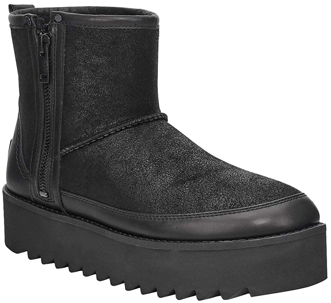 UGG Rebel biker mini ankle boots in black