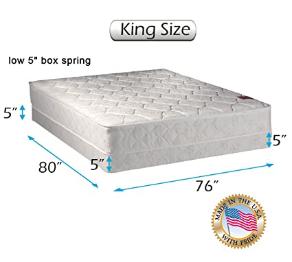 Amazon.com: Dream Solutions USA Legacy None Flip One Sided King