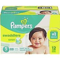 Pampers Swaddlers Pañales Etapa 5 con 88 Piezas