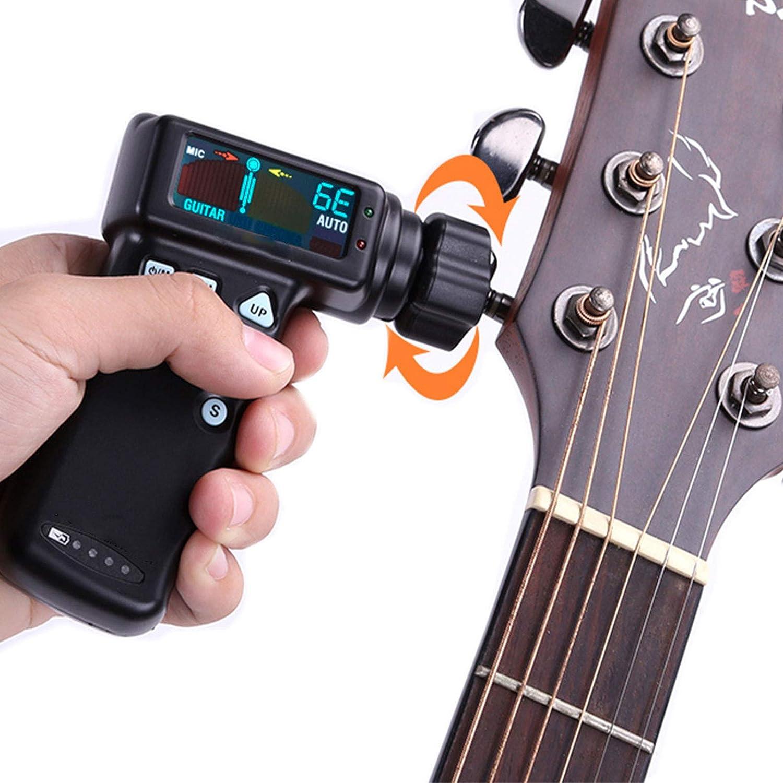 DUTUI Afinador Inteligente De Cuerda Eléctrica, Sintonizador De Cuerda Automática De Guitarra Acústica Eléctrica, Que Le Brinda La Forma Más Conveniente De Afinar