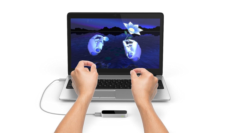 Leap Motion Controller fü r Mac oder PC (Retail Verpackung und Aktualisiert Software) LM-C01-AZ
