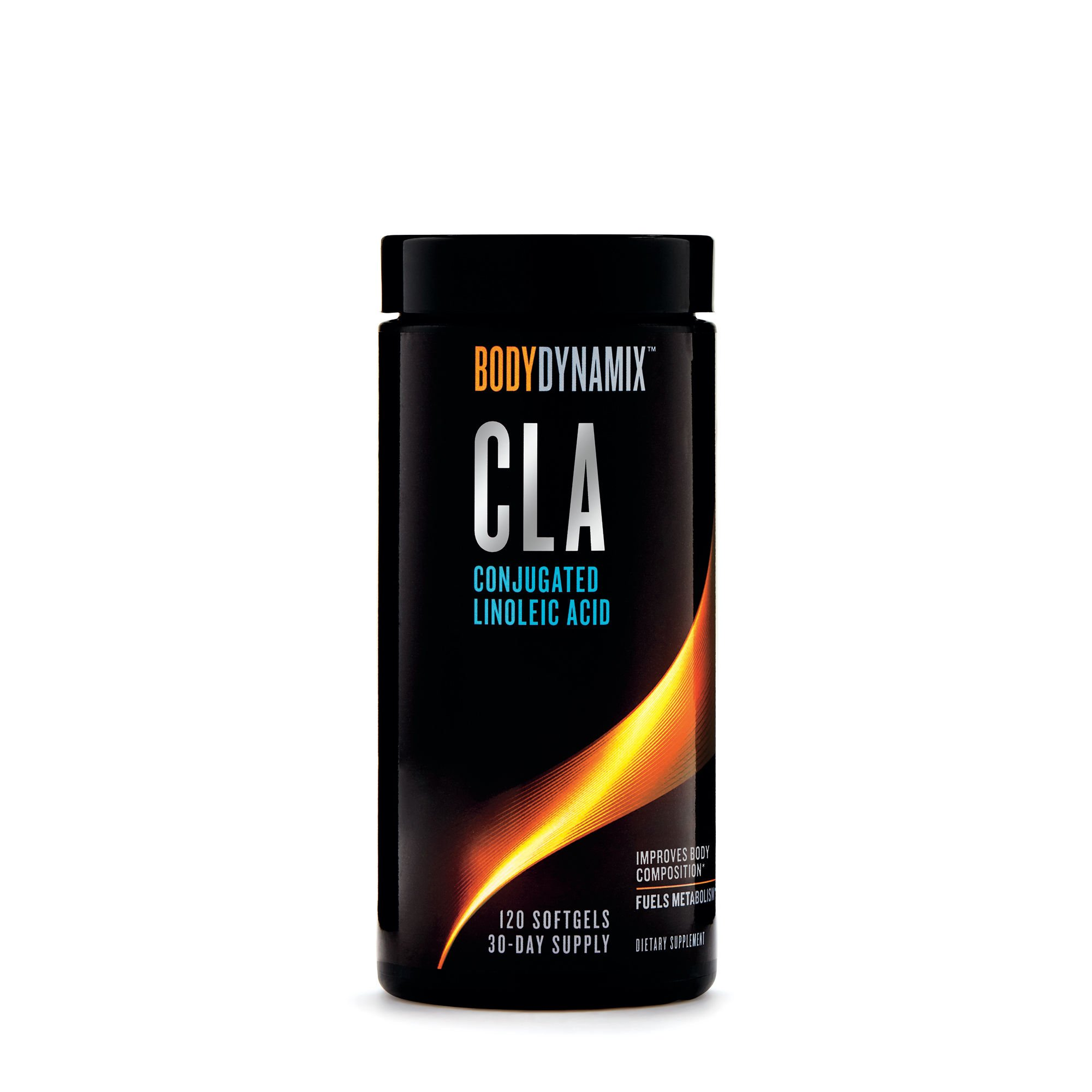 BodyDynamix CLA Conjugated Linoleic Acid, 120 Softgels, Fuels Energy and Fat Metabolism