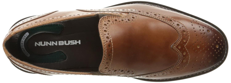 Nunn Bush Mens Norris Wingtip Double Gore Slip-On Loafer