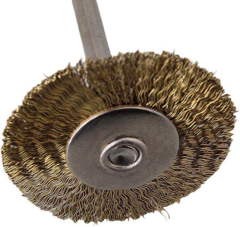 25mm Stainless Steel Wire Brush for Industrial Polishing Pack of 5